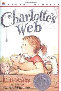Charlottes-Web-Trophy-Newbery-by-E-B-White