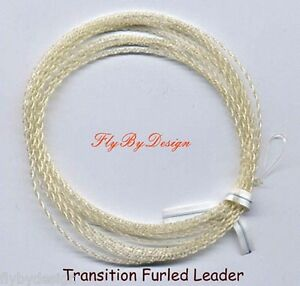 Wonderfurl-Professional-Gold-Fluorocarbon-Furled-Fly-Fishing-Leaders
