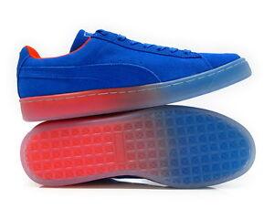 5b457922c30c 361351-01 Puma Suede Classic Fade Future Royal Red Mens Sneaker ...