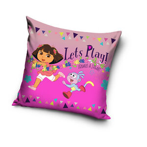 Dora-and-Friends-Nickelodeon-Kissenbezug-Kissenhuelle-Pillowcase-40-x-40-cm