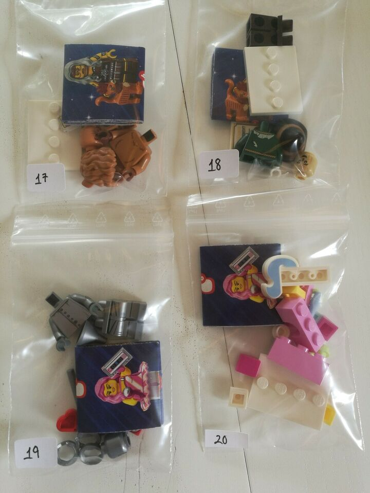 Lego Minifigures, The Lego Movie 2