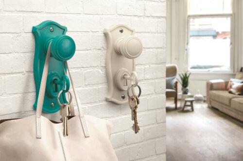 Nostalgie Schlüsselhalter Schlüsselhaken Schlüssel Aufbewahrung in 3 Farben