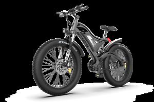 Full Suspension Electric Mountain Bike 750W 48V Battery Fat Tire S18