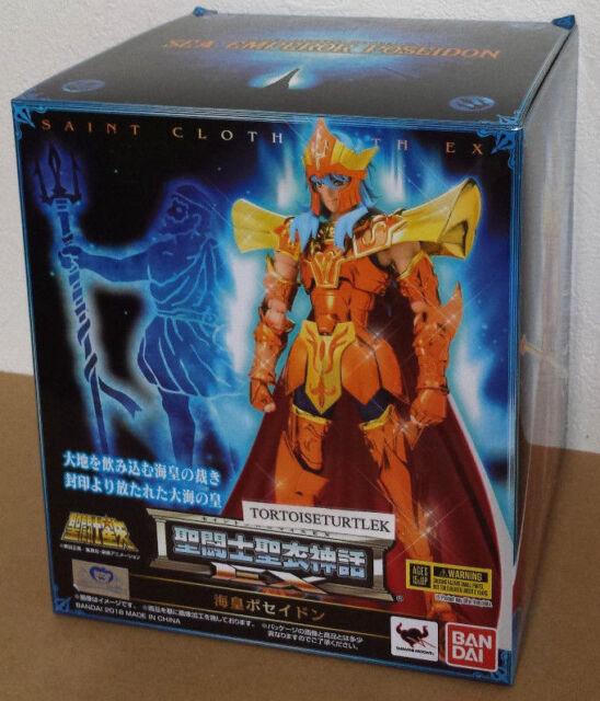 Bandai Saint Seiya Cloth Myth EX Sea God Poseidon Normal ver. Action Figure