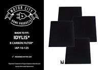 4 Carbon Filters For Idylis B Model Iap-10-125