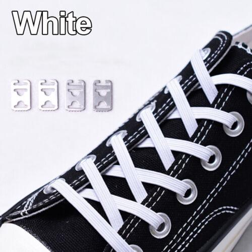 1X Elastic Lock Shoe Lace Shoelace Triathlon Running Trainers Boots Elasticated