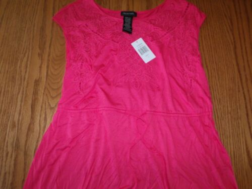 NEW SPENSE WOMENS WOMAN PINK ROUGE RED SUNDRESS DRESS LARGE MEDIUM M L