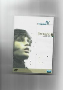 THE DOORS - RARO DVD CONCERTI EUROPA 1968 e N.Y. 1969, 12 BRANI - DVD COME NUOVO
