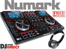 New NUMARK NVII - Dual Display 4DECK Controller Serato - FREE HF125 HEADPHONES