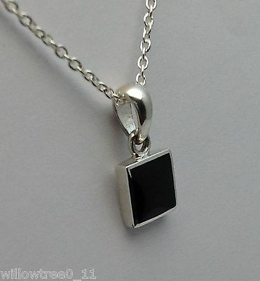genuine whitby jet and sterling silver pendant 00023p hand made in whitby