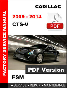 Cadillac cts 2014 owners manual