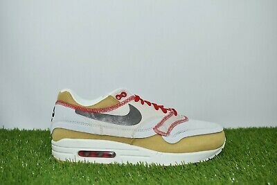 Nike Air Max 1 Premium SE Size 9 Inside Out Club Gold Black