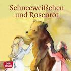 Schneeweißchen und Rosenrot. Mini-Bilderbuch. von Brüder Grimm (2015, Geheftet)
