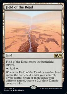 Field of the Dead x1 Magic the Gathering 1x Magic 2020 mtg card