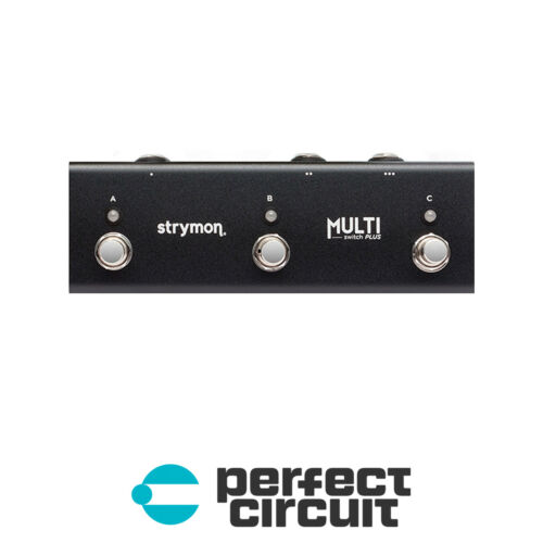 Strymon MultiSwitch Plus Foot Controller Pedal EFFECTS PERFECT CIRCUIT NEW