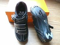Serfas Podium Women's Black Road Bike Shoes Spd Spd-sl Spd-r Size Eu-37 Us-6