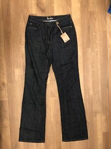 Stretch 12L Fit Nuovo Navy Straight Jeans Denim in Blu Boden cotone Long lungo wE8W6I
