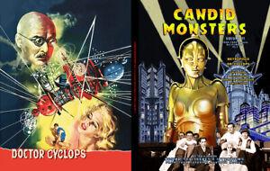 CANDID MONSTERS Book VOL 11 Classic Sci-fi 20's-40's METROPOLIS Dr. Cyclops sfx