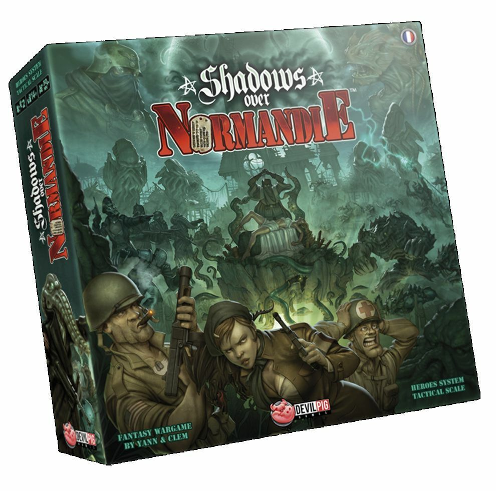 Shadows over Normandie & & & store promo Zombie Ben, NEW d1158b