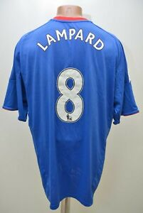 CHELSEA-2010-2011-8-LAMPARD-HOME-FOOTBALL-SHIRT-JERSEY-ADIDAS-SIZE-XL-ADULT