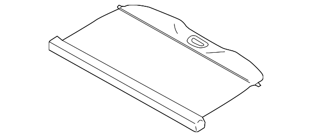 Genuine Ford Luggage Cover DM5Z-5845440-AA