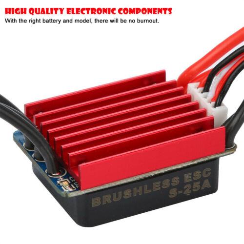 Visdron 2430 7200KV Sensorless Brushless Motor Fully Waterproof For 1//16 1//18