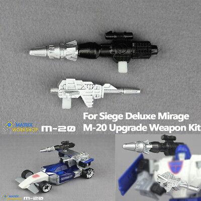 Matrix Workshop M-15 Upgrade Kit For Siege Deluxe Red Alert Transformation