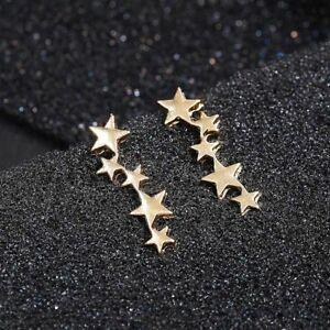 Small-Star-Stud-Earrings-Ear-Climber-Cuff-Earrings-Ear-Crawler-Women-Jewelry