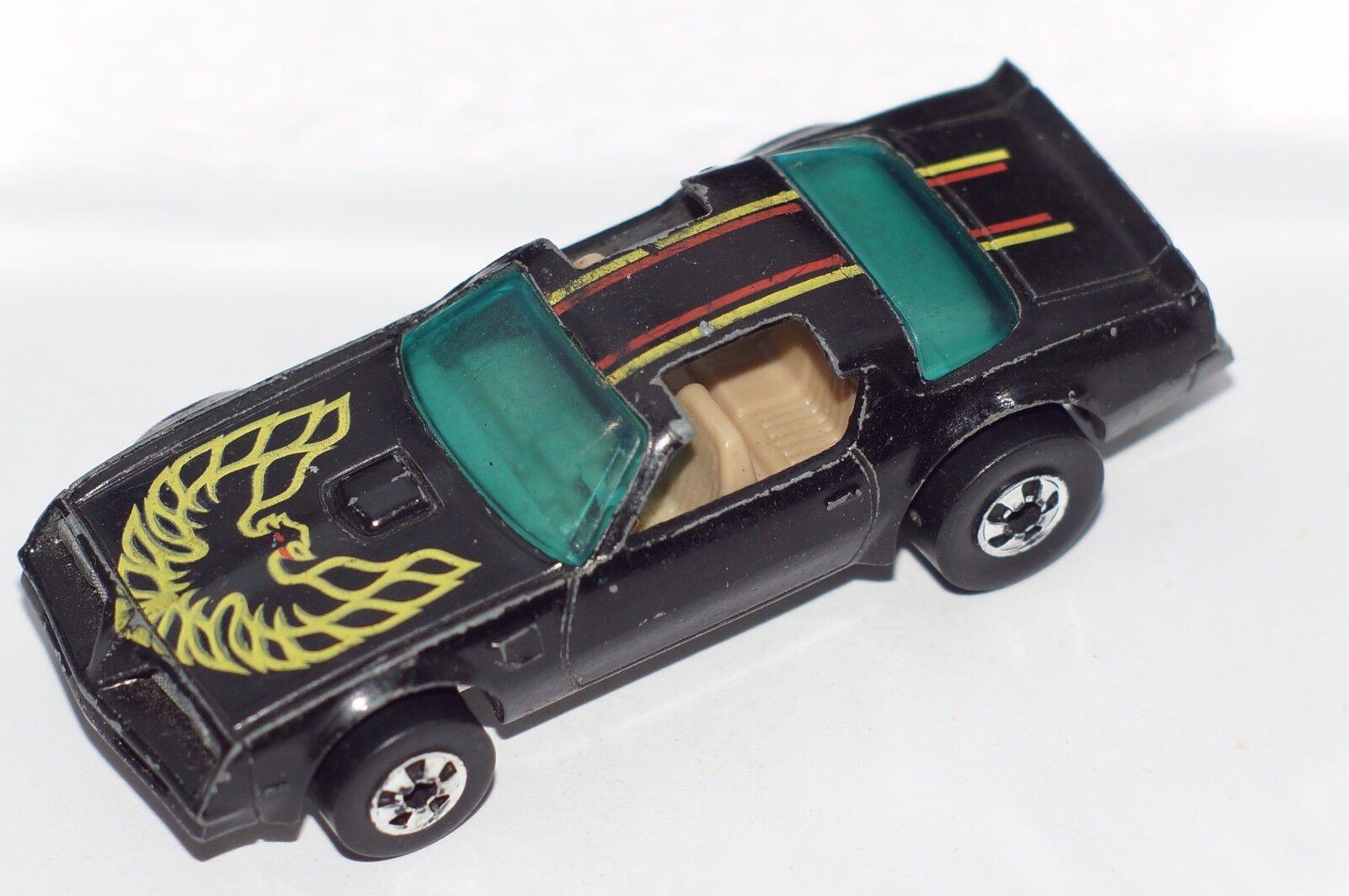 Original Hot Wheels Flying Couleurs-Hot Bird Trans AM-Noir-BWS-base en métal