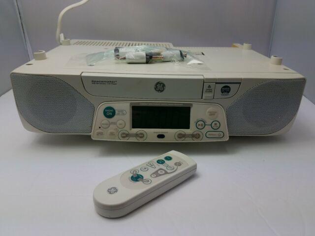 Ge Spacemaker 7 4290b Cd Player Am Fm Radio Under Cabinet 42312 S