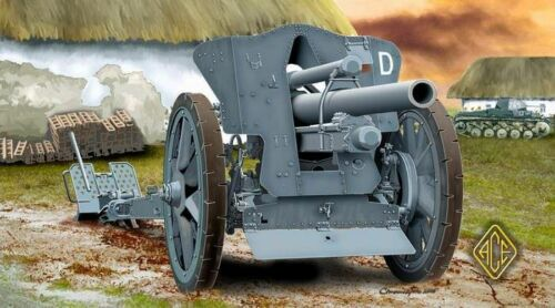 ACE 72216-1:72 German le FH18 10,5 cm Field Howitzer Neu