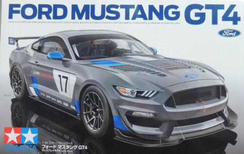 2017 FORD MUSTANG GT4 TAMIYA 1:24 PLASTIC MODEL CAR KIT