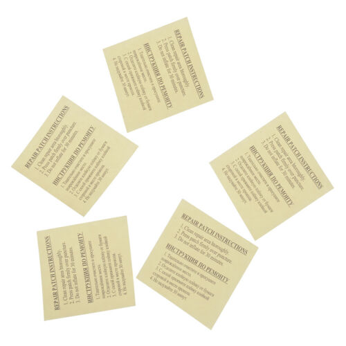 PVC Puncture Repair Adhesive Patch Inflatable Swimming Float Air Bed Patches/_SH