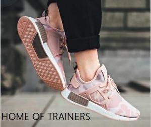 Details about Adidas NMD_XR1 W Pink Camo Vapour Grey BA7753 MEN'S TRAINERS - SALE