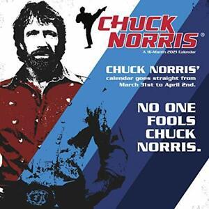 CHUCK NORRIS - 2021 WALL CALENDAR - BRAND NEW - 214109 | eBay
