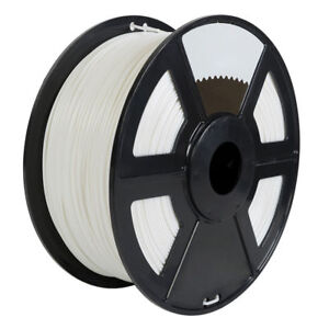 Pearl White 3D Printer Filament 1kg//2.2lb 1.75mm PLA MakerBot RepRap