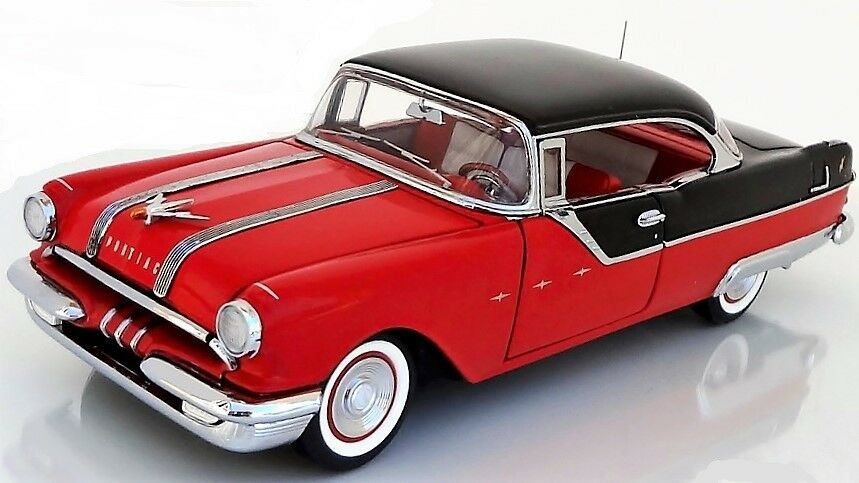 1 1 1 1950s Coche Vintage Trans Sport Pontiac construido 18 Modelo 24 carrusel Rojo 12 am  garantía de crédito