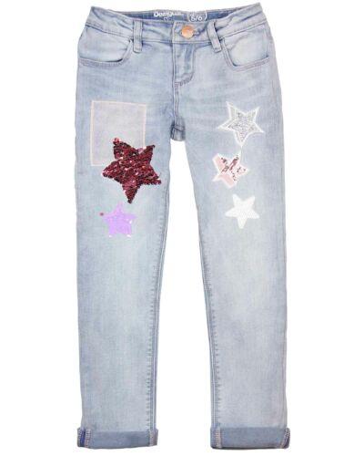 Sizes 5-14 Desigual Girls/' Denim Pants Morillo