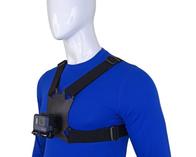 Stuntman Brust Halterung mit Kugelgelenk für GoPro und andere Action Kameras