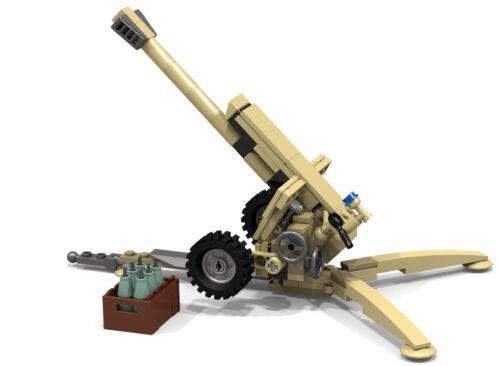 lego moc soviet 122 mm howitzer 2A18 D30 D-30