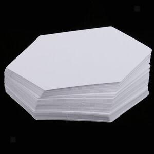 """Dritz 3231 Quilting Hexagon Paper Piecing 1.5/"""" 100 Pack Pkg Hexagoninch"""