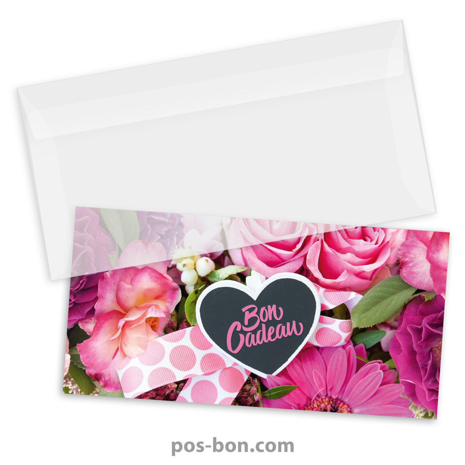 Bons cadeaux universels  enveloppes pour toutes occasions, fleurs BL9244F   Vielfalt    Neuer Eintrag