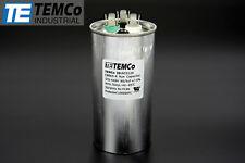 TEMCo 60+5 uf/MFD 370-440 VAC volts Round Dual Run Capacitor 50/60 Hz -Lot-1