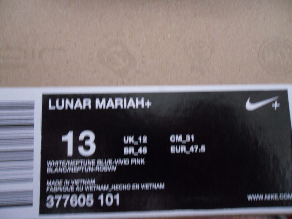 NIKE Rose LUNAR MARIAH+ BLANC-NEPTUNE BLUE-VIVID Rose NIKE Homme  Chaussures de sport pour hommes et femmes 628ac3