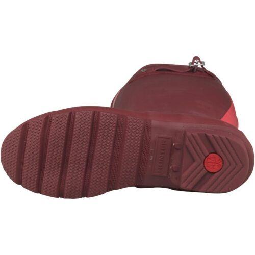 – Original Wellington 3 pink Stripe Deep Bnib Boots Hunter Size Red Womens RwZgnwAS