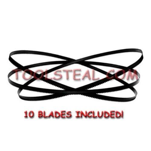 10 Pack FITS  6232-6 SAW Milwaukee 48-39-0522 Band Saw Blade 18 TPI Bi-Metal