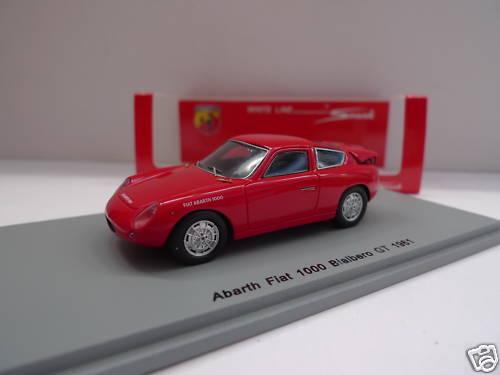 SPARK - Abarth Fiat 1000 Bialbero GT 1961  1 43