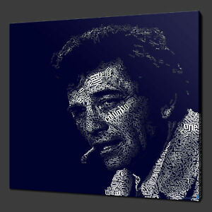 COLUMBO TV SERIES MODERN CANVAS PRINT MANY COLOURS READY TO HANG