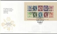 GB 2003 FDC 50th Anniv Wildings 2nd issue Minisheet Windsor postmark stamps