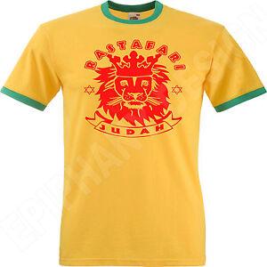 Lion-Of-Judah-T-Shirt-Rasta-Rastafari-Reggae-Jamaica-Bob-Marley-Yellow-Green